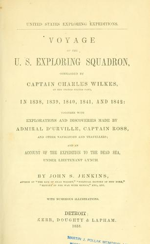 Voyage of the U.S. exploring squadron