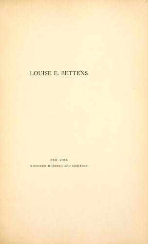 Louise E. Bettens.