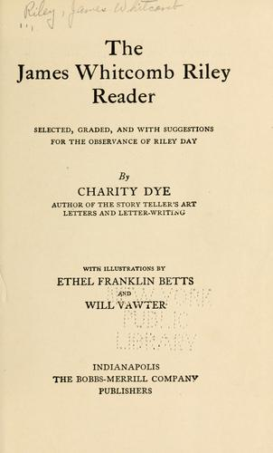 The James Whitcomb Riley reader