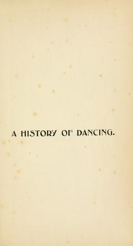 A history of dancing.