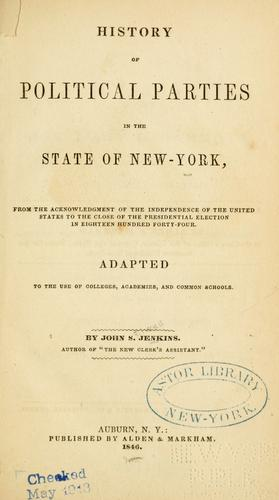 Download History of  political parties, in the state of New York.