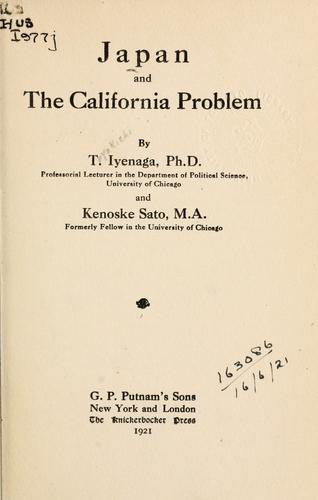 Download Japan and the California problem.