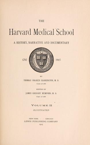 Download The Harvard medical school