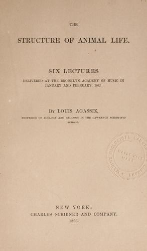 Download The structure of animal life.