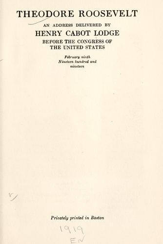 Download Theodore Roosevelt