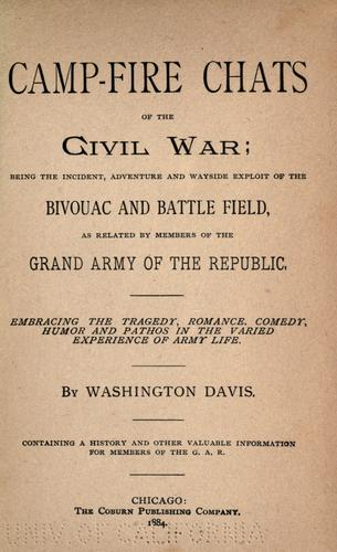Download Camp-fire chats of the civil war