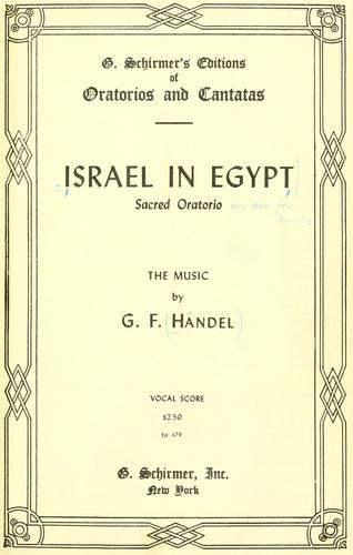 Download Israel in Egypt
