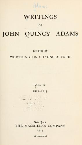Download Writings of John Quincy Adams