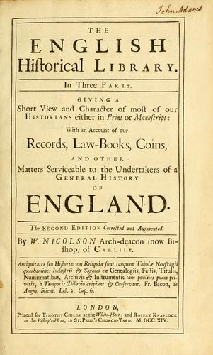 Download The English historical library