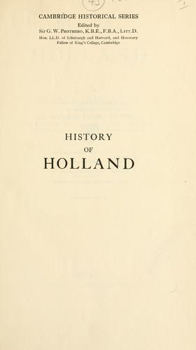 Download History of Holland.