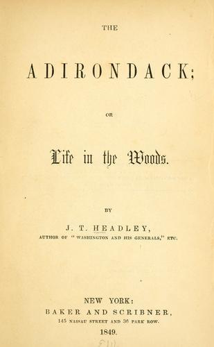 Download The Adirondack