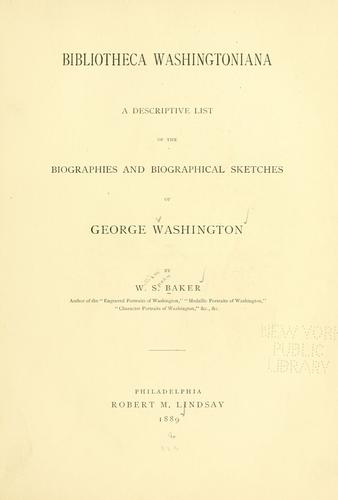 Download Bibliotheca Washingtoniana