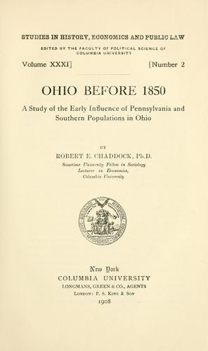 Download Ohio before 1850