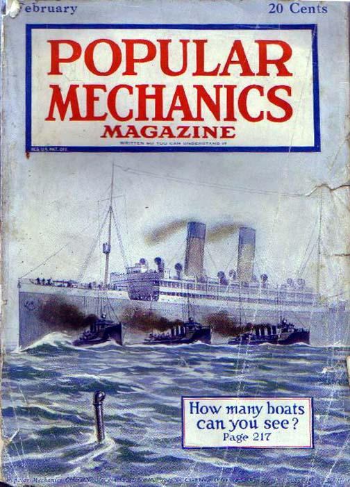 Cover of The Popular Magazine February 1919