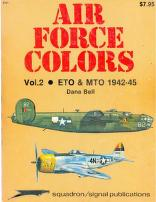 Cover of: Air Force Colors Volume 2