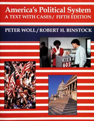 Cover of: America's political system | Peter Woll