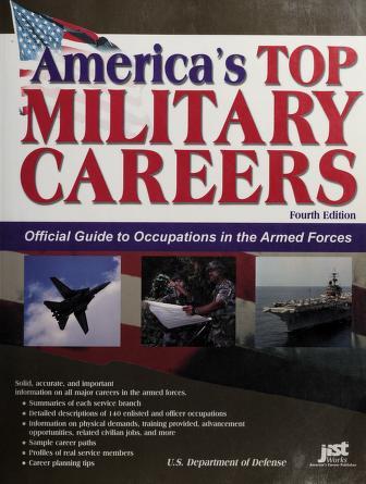 Cover of: America's top military careers | JIST Works.