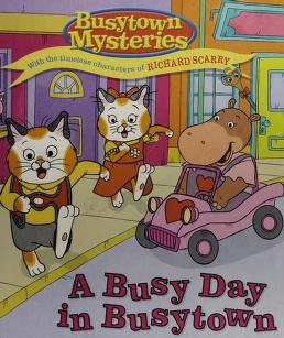 Cover of: A busy day in Busytown | Natalie Shaw