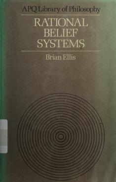 Cover of: Rational belief systems | B. D. Ellis