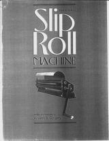 Cover of: Build a slip roll machine by Vincent R. Gingery