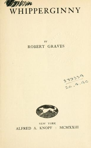 Whipperginny by Robert Graves