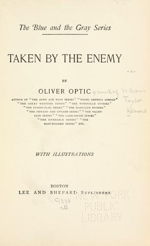 …Taken by the enemy