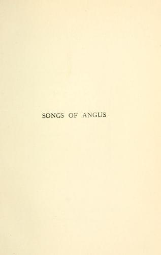Songs of Angus.